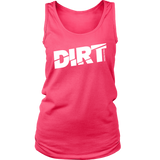 DIRT Tank Top - Turn Left T-Shirts Racewear