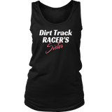 Dirt Track Racer's SISTER Tank Top - Turn Left T-Shirts Racewear