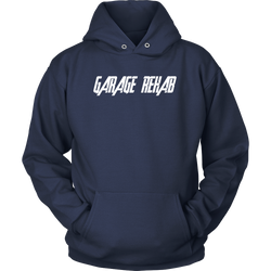 Man Cave Shirts, Garage Hoodie Sweatshirt - Turn Left T-Shirts
