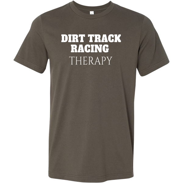 Dirt Track Racing Therapy T-Shirt