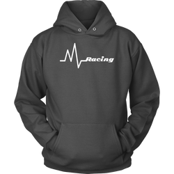Racing Heartbeat - Life Line Hooded Sweatshirt