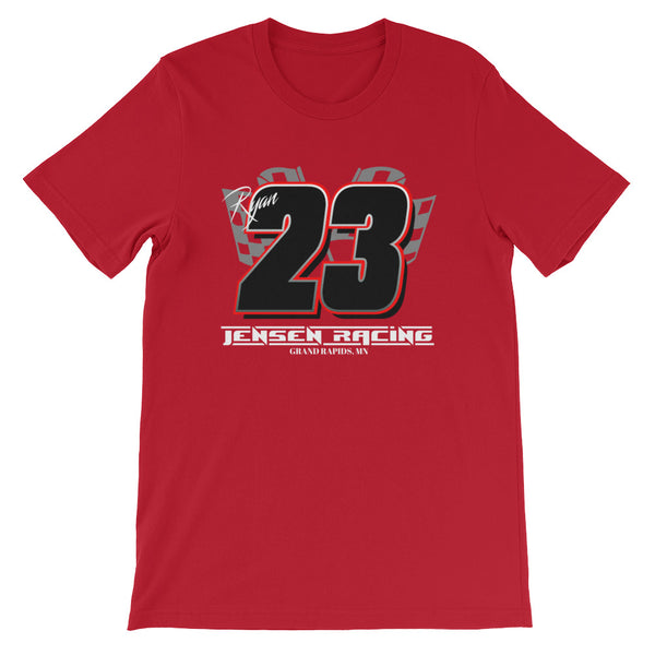 Jensen Racing Team #23 Short-Sleeve Unisex T-Shirt
