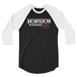 Jensen Racing Team #23 Unisex 3/4 sleeve Raglan T-Shirt - Turn Left T-Shirts Racewear