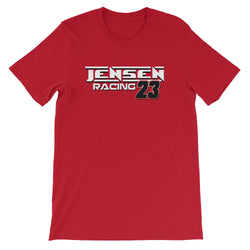 Jensen Racing Team #23 Short-Sleeve Unisex T-Shirt - Turn Left T-Shirts Racewear