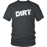 DIRT Track Racing Men T-Shirt - Turn Left T-Shirts Racewear