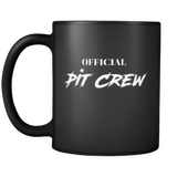 Official Pit Crew Coffee Mug - Turn Left T-Shirts Racewear