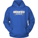 Modified Racing Hooded Sweatshirt - Turn Left T-Shirts Racewear