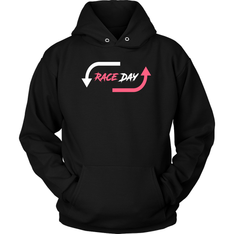 Race Day Hoodie Racing Life Collection - Turn Left T-Shirts Racewear