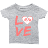 Love Racing Infant T-Shirt - Turn Left T-Shirts Racewear
