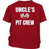 Uncle's Pit Crew Youth Hoodie or T-Shirt - Turn Left T-Shirts Racewear