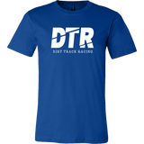 DTR Dirt Track Racing Men's T-Shirt - Turn Left T-Shirts Racewear