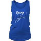 Racing Girl Women's Classic Tank Top - Turn Left T-Shirts Racewear