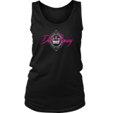 Dirt Racing Queen Tank Tops - Turn Left T-Shirts Racewear