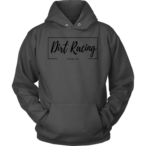 Dirt Racing Women's Classic Hooded Sweatshirt / Hoodie - Turn Left T-Shirts Racewear