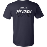 OFFICIAL Racing Pit Crew Men's T-Shirt - Turn Left T-Shirts Racewear