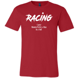 Racing Cause Women Prefer A Man In A Suit T-Shirt - Turn Left T-Shirts Racewear