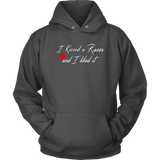 I kissed A Racer And I Liked It Hooded Sweatshirt - Turn Left T-Shirts Racewear