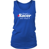 I Kissed A Racer And I Liked It Classic Tank Top - Turn Left T-Shirts Racewear