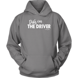 Dibs On The Driver Racing Life Collection Hoodie - Turn Left T-Shirts Racewear