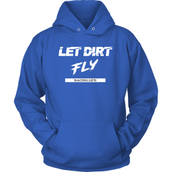 Dirt Track Racing Hoodie Shirts For Men and Women