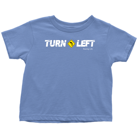 Turn Left Racing Logo Toddler T-Shirt - Turn Left T-Shirts Racewear