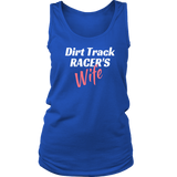 Dirt Track Racer's WIFE Tank tops - Turn Left T-Shirts Racewear