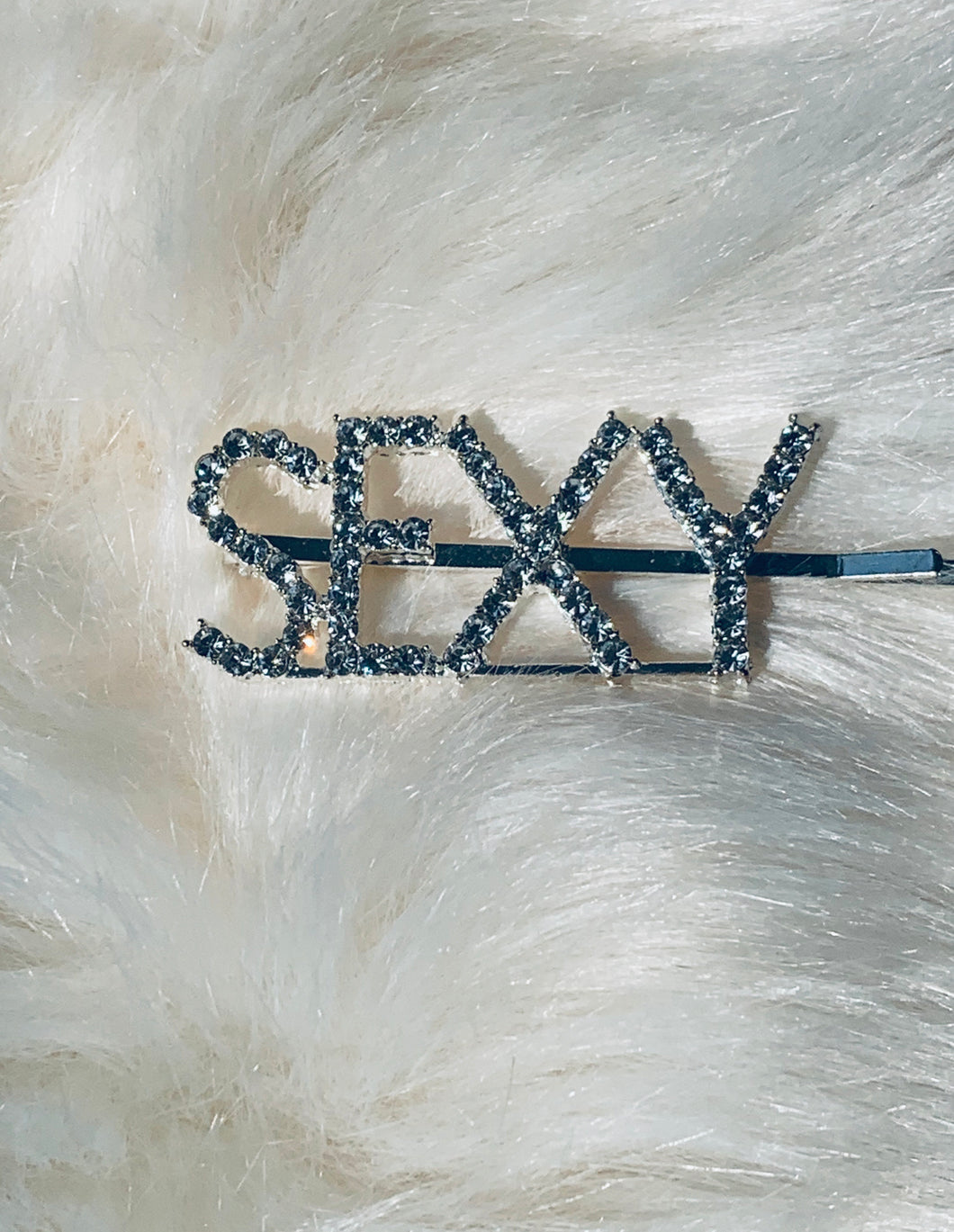 SEXY blinged out hair pin