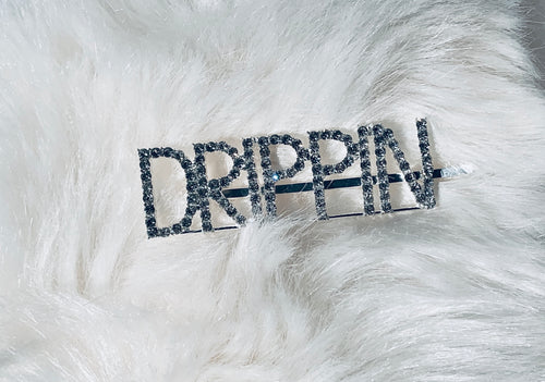DRIPPIN blinged out hair pin