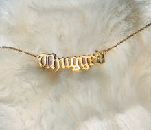 Thugged Name Nacklace
