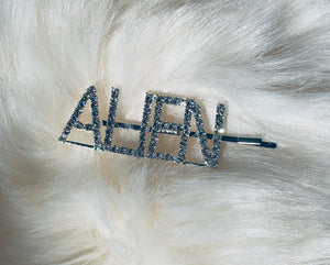ALIEN blinged out hair pin