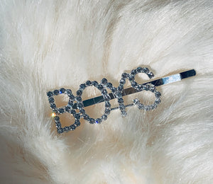 BOYS blinged out hair pin
