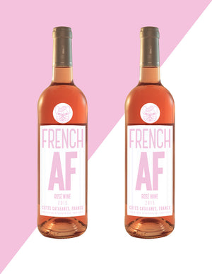 2017 French AF Rosé Wine - 2 Pack - FREE SHIPPING