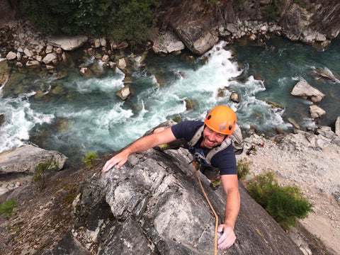 Rock Climber in Squamish