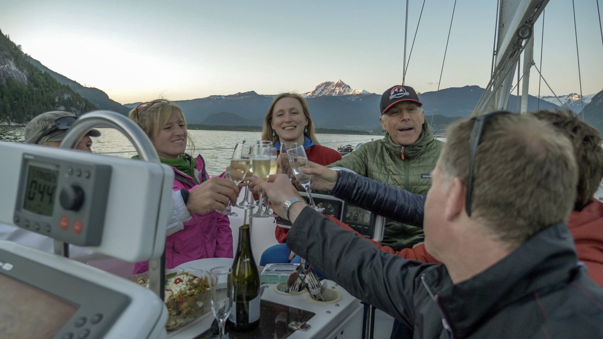 Sunset Sailing & Dinner Cruise in Howe Sound located in Squamish, BC