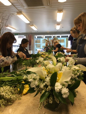Career Course - Vida Flores Certificate in Floral Design and Floristry