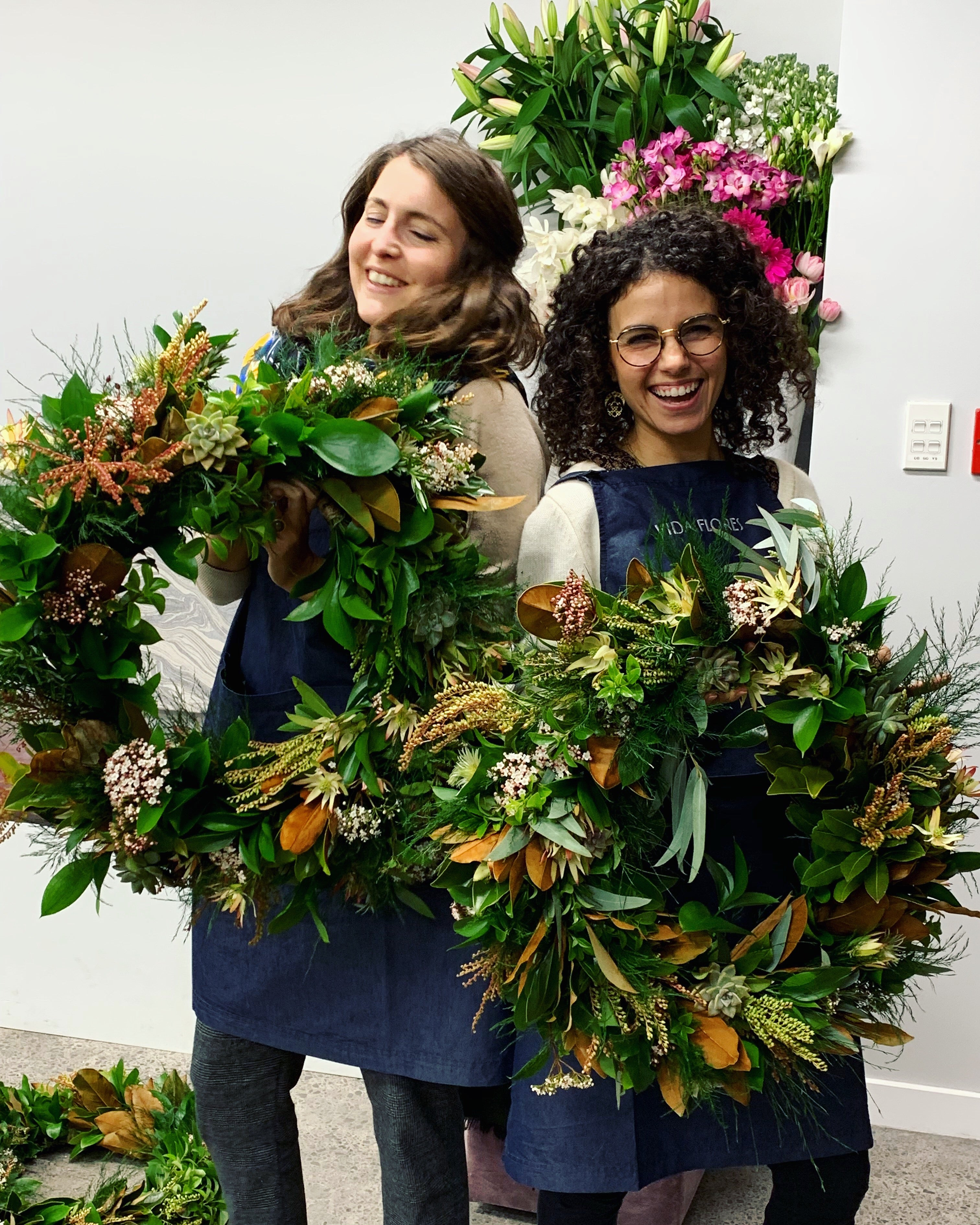 Mixed Foliage Wreaths on a Frame - Saturday 5th December - 10am-12pm