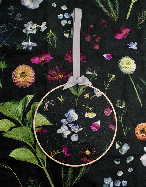 Exquisite Fabric and Stitch Workshop with artist Helen Bankers, and stitch genius Erika Schaab-Farrant- Thursday October 3rd and 10th 6-8pm
