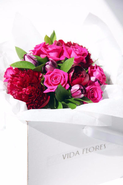 Colourful Box of Flowers