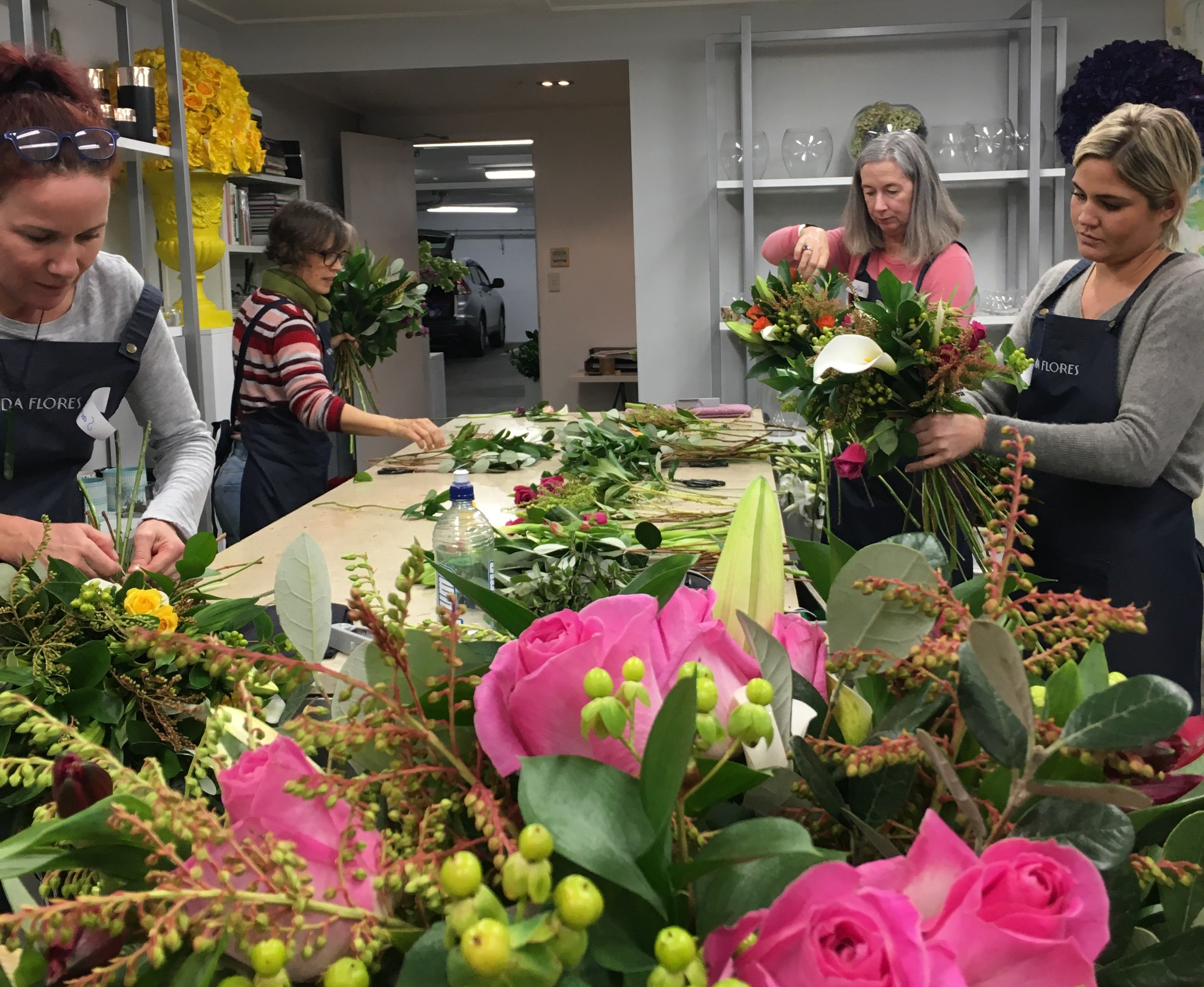 Hand-tied Bouquets and Posies More than Basics- Saturday 20th June 10am-12noon