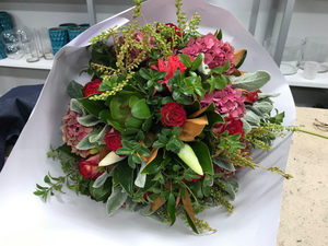 Festive Hand-tied Bouquets BASICS - Saturday 16th November 2019 - 1-3pm