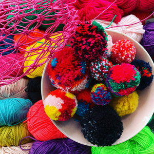 Pom Poms - Simple Series Tuesday 7th July 10.30-12.30