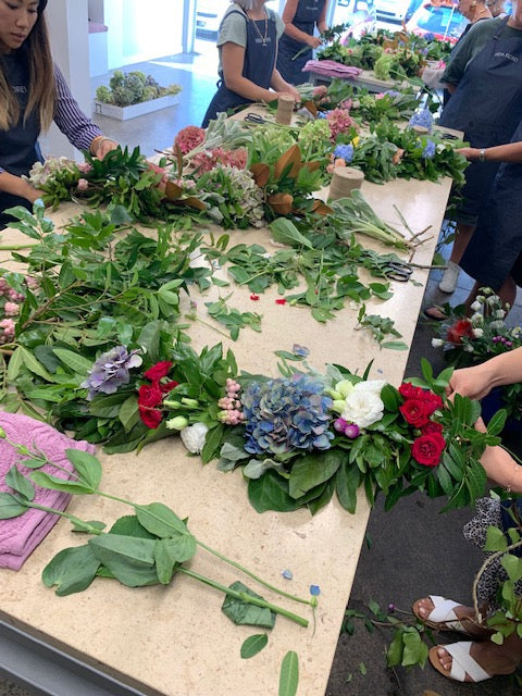 Career Course - June/July 2019 - Vida Flores Certificate in Floral Design and Floristry