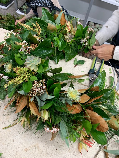 Mixed Foliage Wreaths on a Frame - Saturday 16th November - 10am-12pm