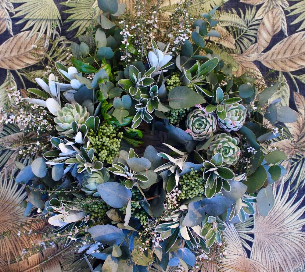 Lush Foliage Wreaths in floral foam - Thursday 10th December 2-4pm