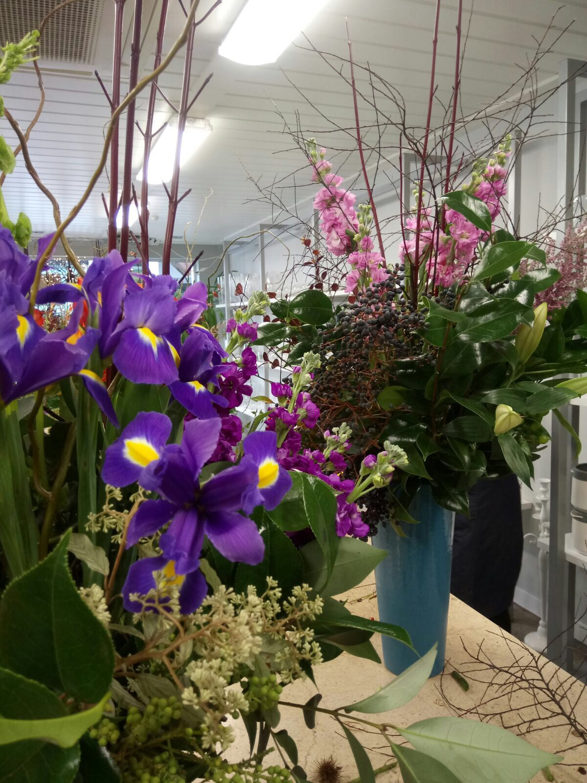 Vase Arrangements - All levels Saturday 17th March 10am- 12pm