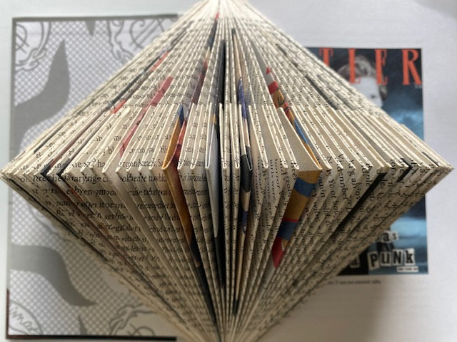 Book Folding with Stylist Sharyn Buckley Saturday 14th November 1-3pm