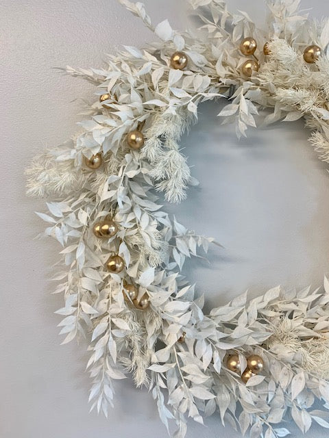 Preserved foliage Christmas Wreaths Saturday 7th November 10am-12noon