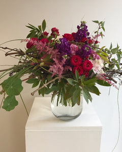 Vase Arrangements – Intermediate Tuesday 12th June 6-8pm