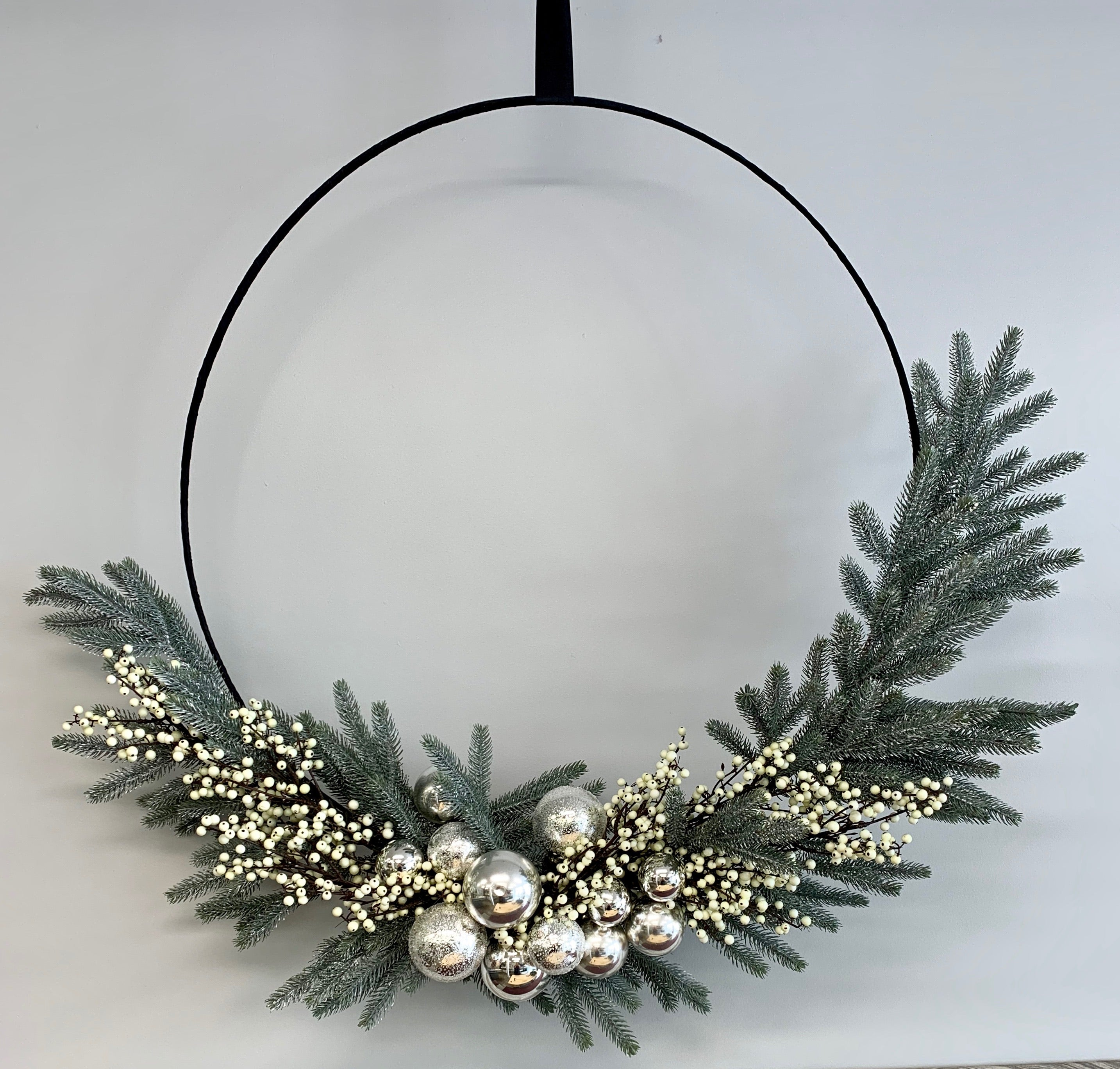 Foliage Christmas Wreath - 80cm diameter