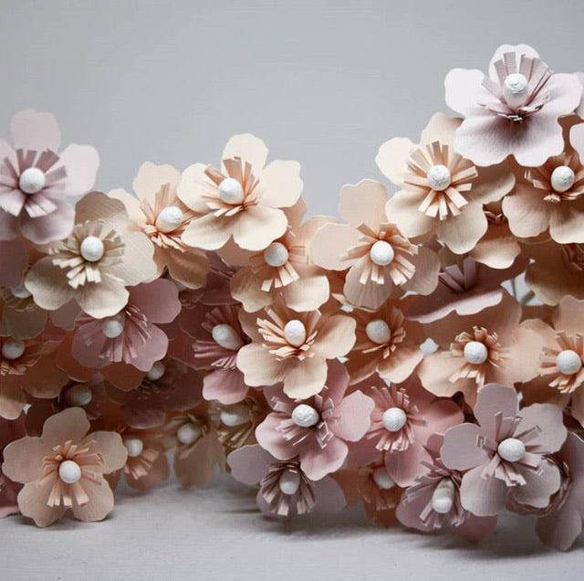 Paper Flower Adornment with Dionne Wood of Wildpaper NZ - Saturday 29th February - 1-4pm